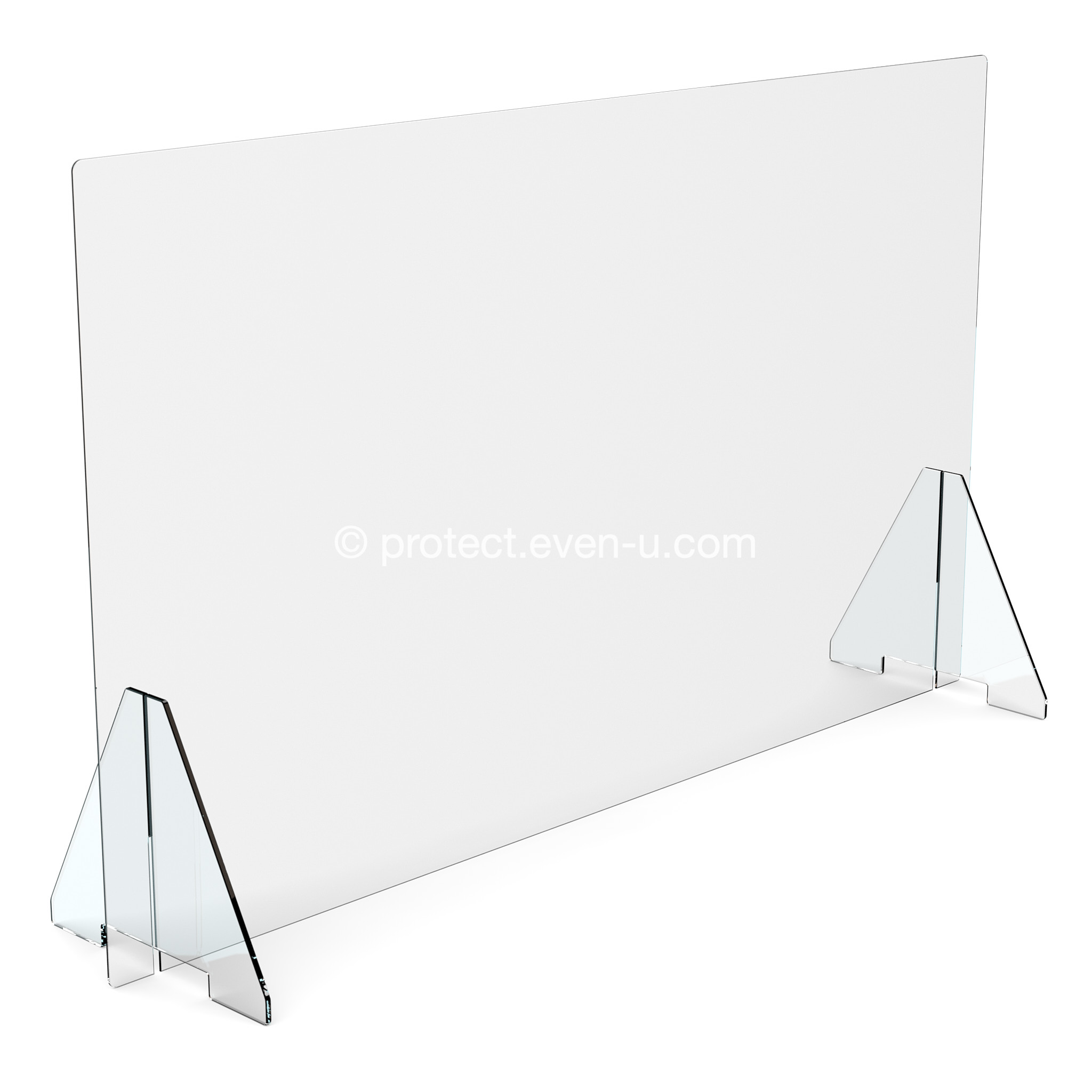Shop Image of the 120cm Plain Covid-19 Protection Screen
